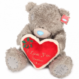 Мишка Teddy с сердцем I Love You Sooo... Much 61 см